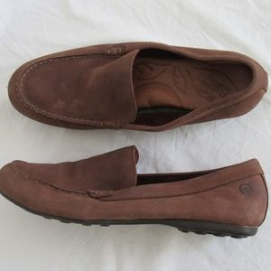 Born Brown Leather Loafer Women's 9